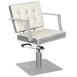 Modern hairdressing chair with a unique design. Very comfortable