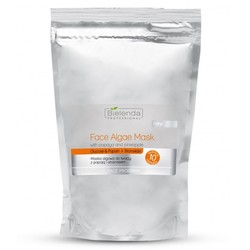 BIELENDA algae mask with pineapple and papaya 260 g