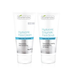 Bielenda DUET Hyaluronic Facial Cream 150ml + Hyaluronic Facial