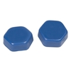 Item 301601 Low Melting Point Wax BLUE MEDIUM 1kg.